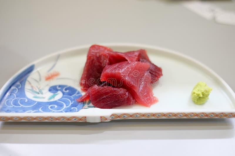 新鲜的日本料理 库存照片