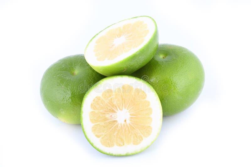 新鲜的柚 免版税库存图片