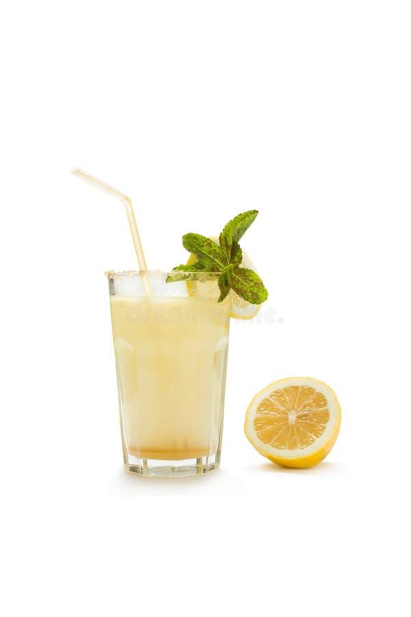 新鲜的柠檬水 库存照片