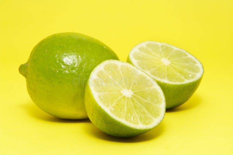 新鲜的柠檬石灰 图库摄影
