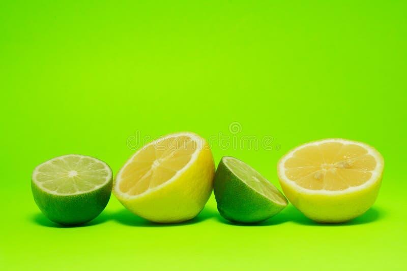 新鲜的柠檬石灰 免版税库存照片