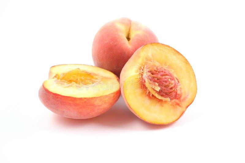 新鲜的桃子 免版税图库摄影
