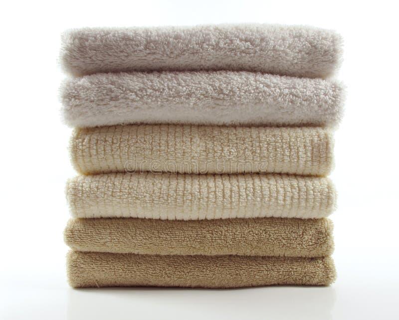新鲜的毛巾 图库摄影