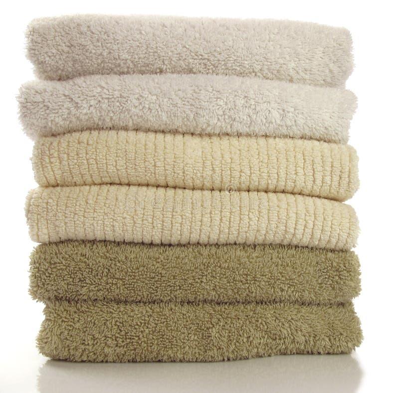 新鲜的毛巾 库存图片