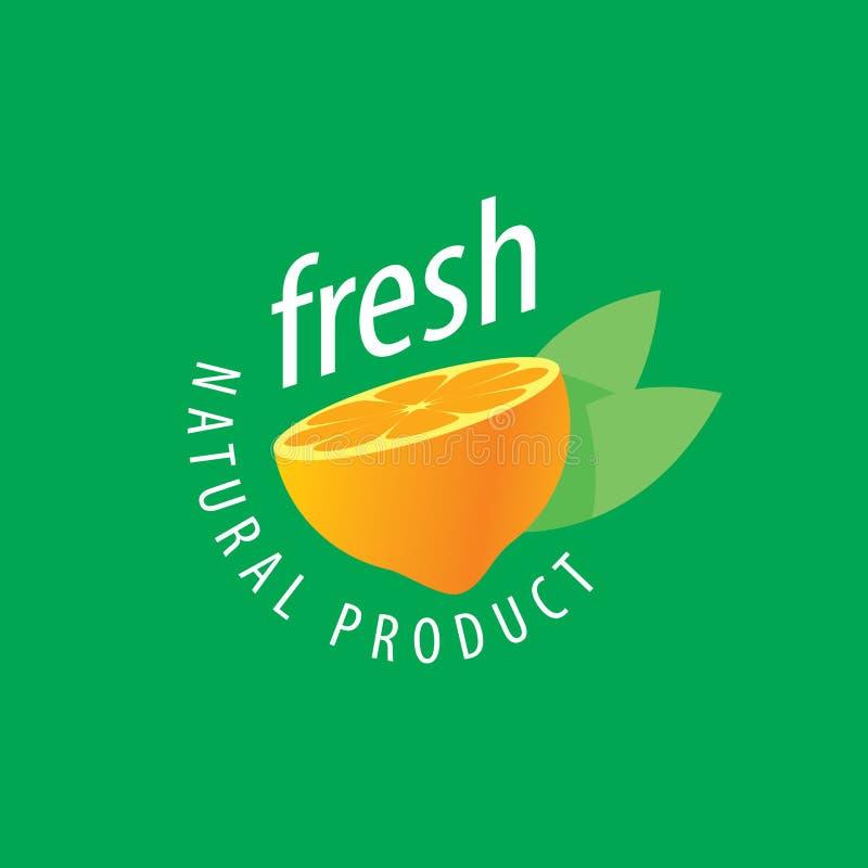 新鲜的汁液商标  库存例证