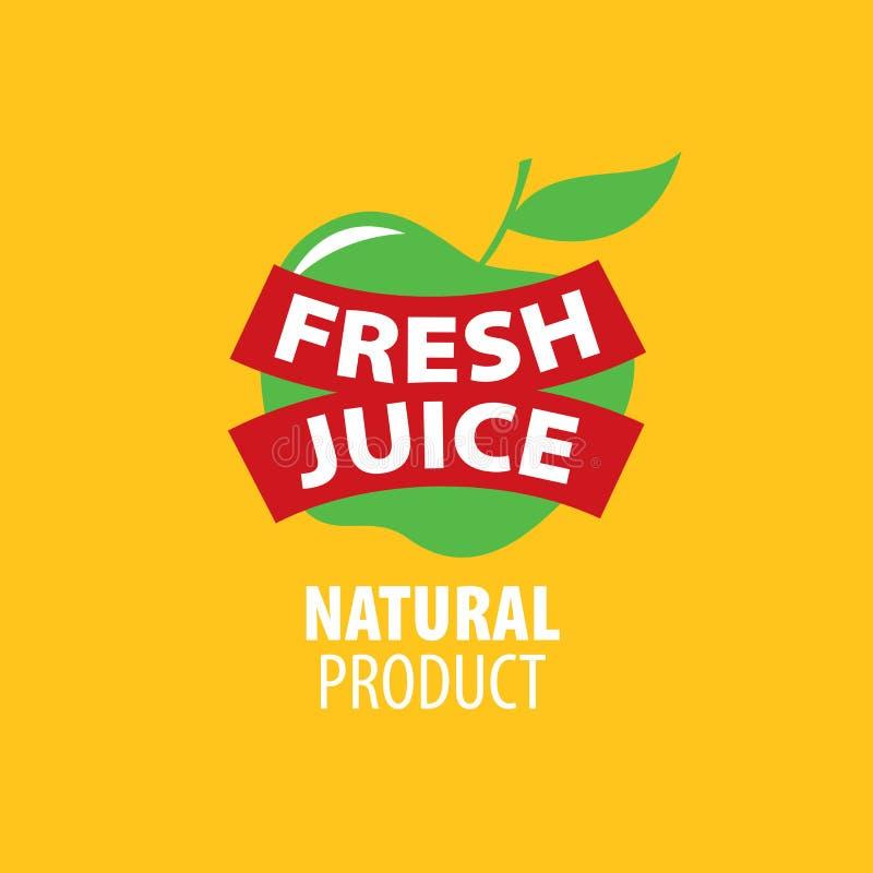 新鲜的汁液商标  皇族释放例证