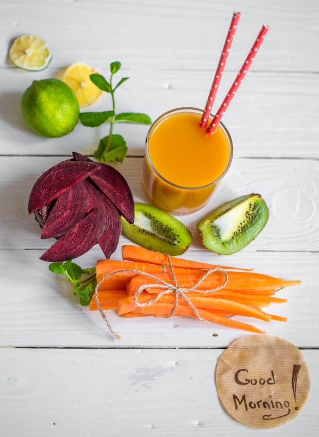 新鲜的汁液用果子 图库摄影
