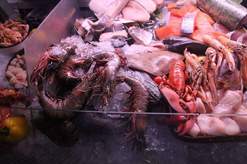 新鲜的海鲜 免版税库存照片