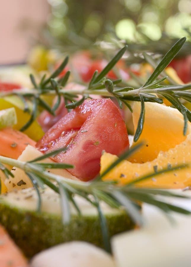 新鲜的混合蔬菜 库存图片