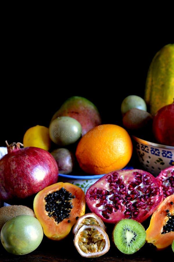 新鲜的混杂的果子 免版税库存图片