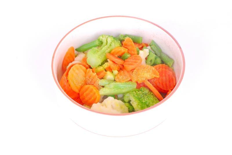 新鲜的混杂的蔬菜 免版税库存照片