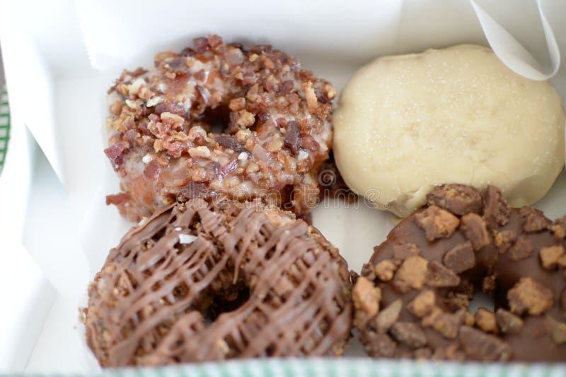 新鲜的热的多福饼 免版税库存照片