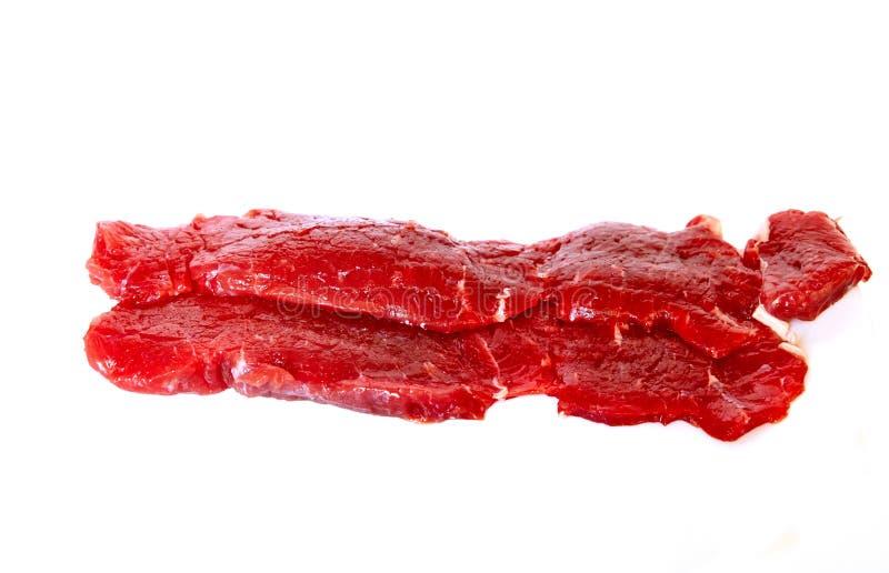 新鲜的牛肉牛腰肉排 免版税库存图片