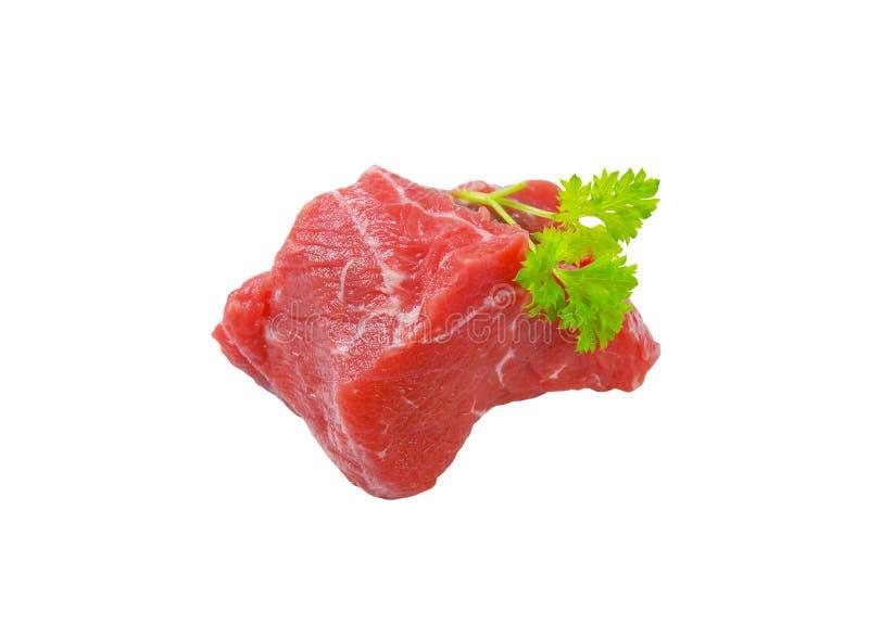 新鲜的牛肉肉大块 免版税库存照片