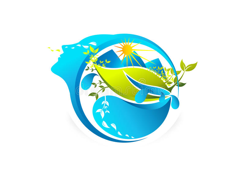 Download 新鲜的秀丽妇女 向量例证. 插画 包括有 设计, 要素, 绿色, 图画, 环境, beauvoir, 艺术 - 62531847