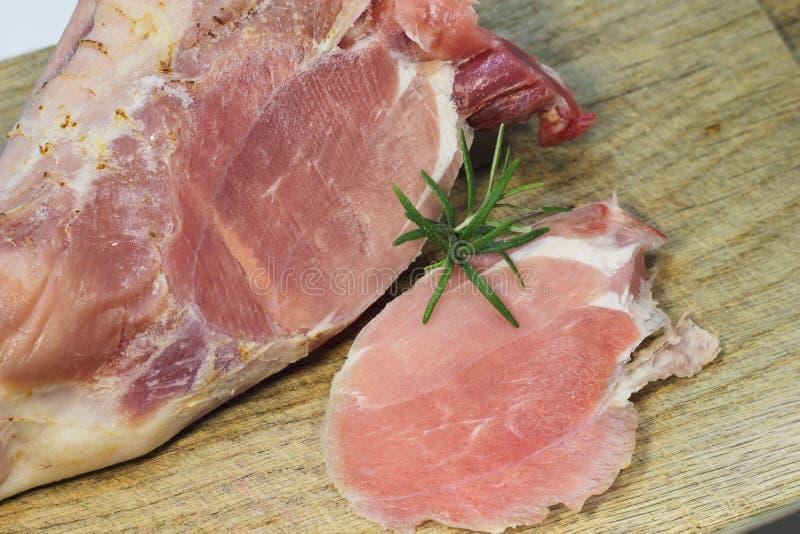 新鲜的肉羊羔 库存照片