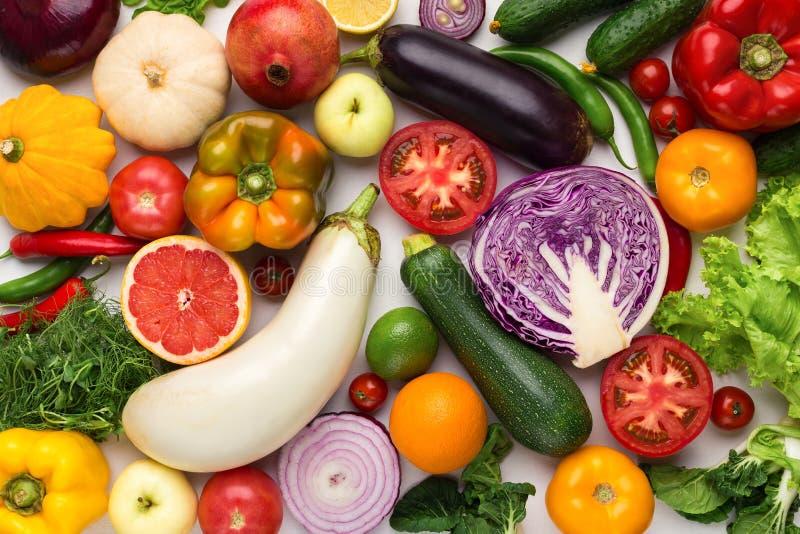 水果种类_新鲜的自然水果和蔬菜的分类.