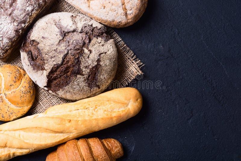 新鲜的芬芳面包 库存照片