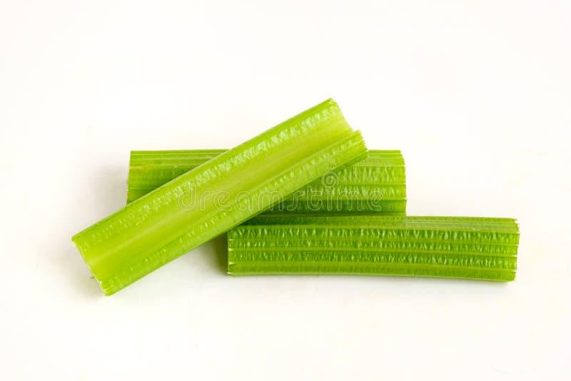 新鲜的芹菜茎 免版税图库摄影