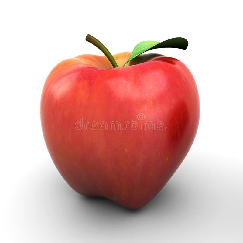 新鲜的苹果