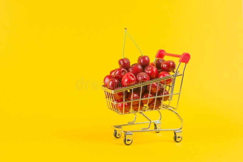 新鲜的莓果收获  免版税库存照片