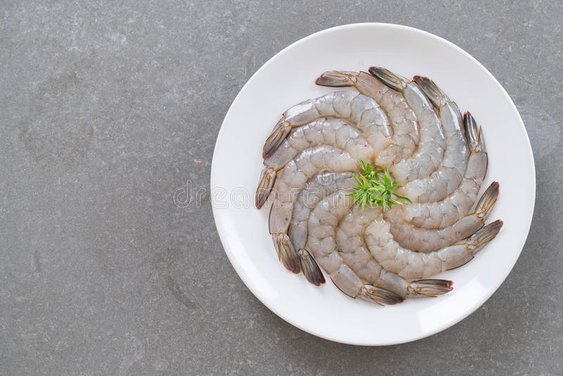 新鲜的虾/大虾 免版税图库摄影