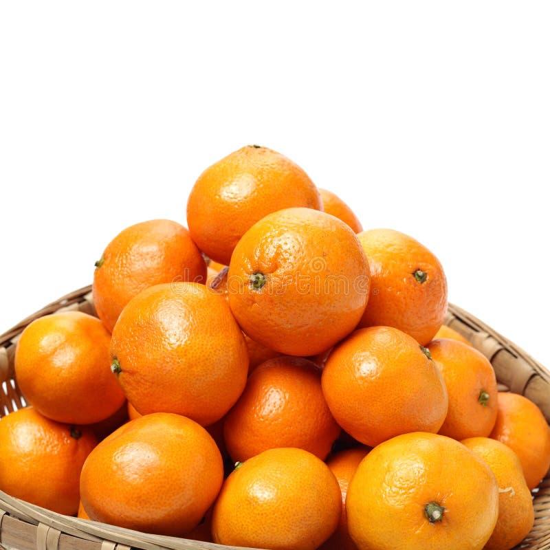 新鲜的蜜桔 库存照片