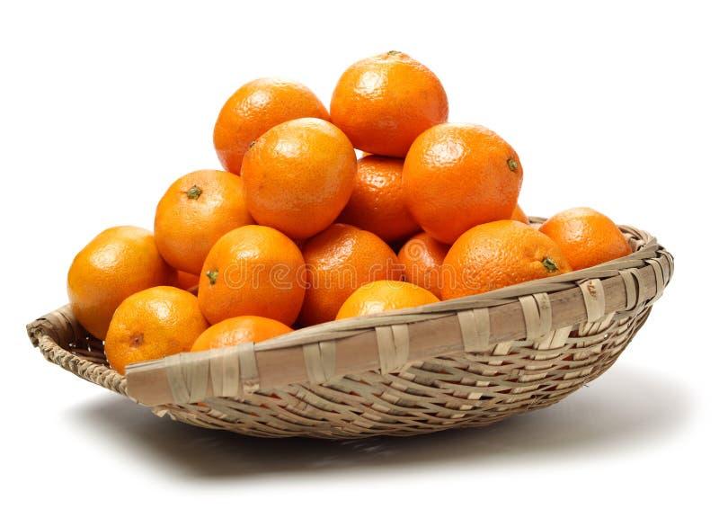 新鲜的蜜桔 库存图片