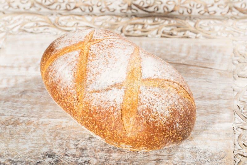 新鲜的被烘烤的法国面包大面包  库存图片