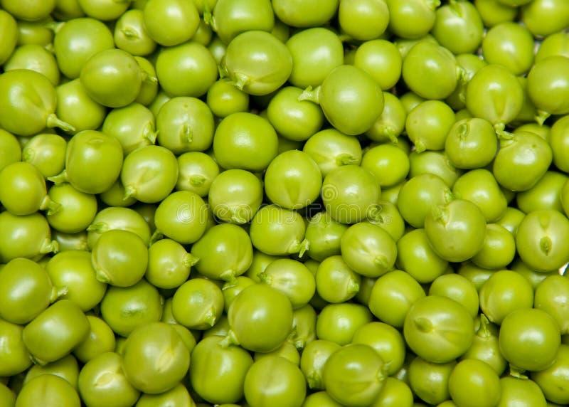 新鲜的豌豆 库存照片