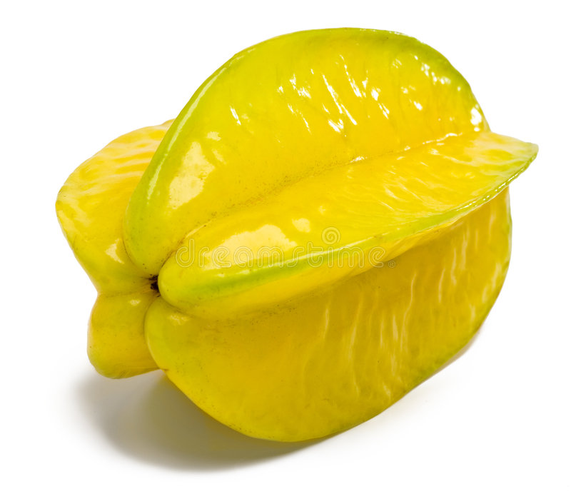 新鲜的阳桃 免版税库存图片