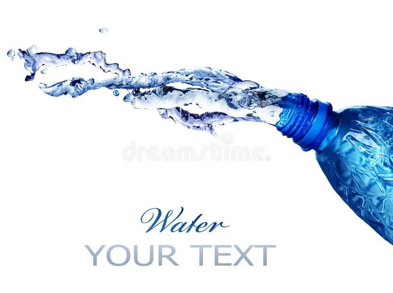 新鲜的飞溅的水 免版税库存照片