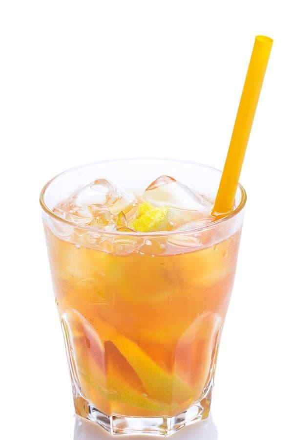 新鲜的鸡尾酒用柠檬 库存图片