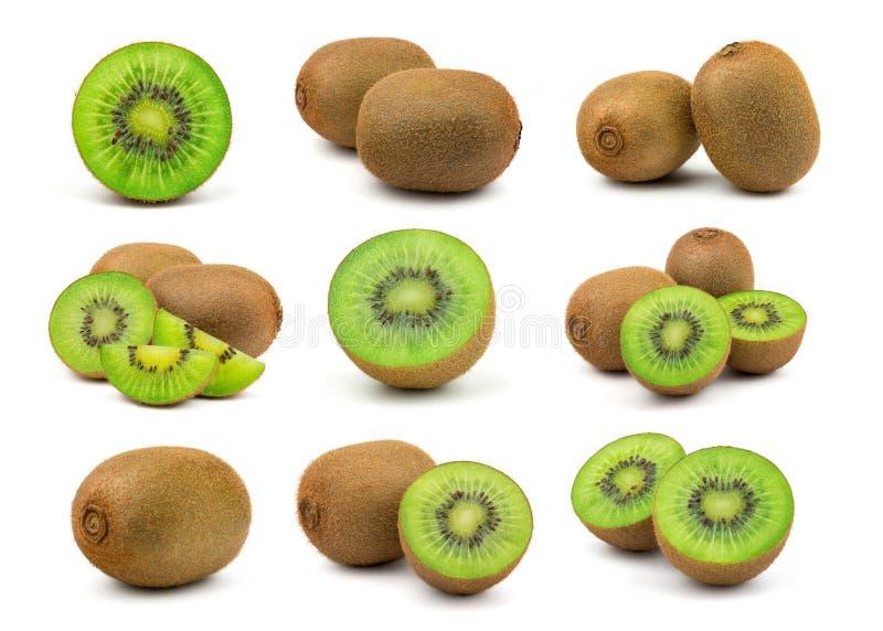 新鲜的绿色猕猴桃 免版税库存图片