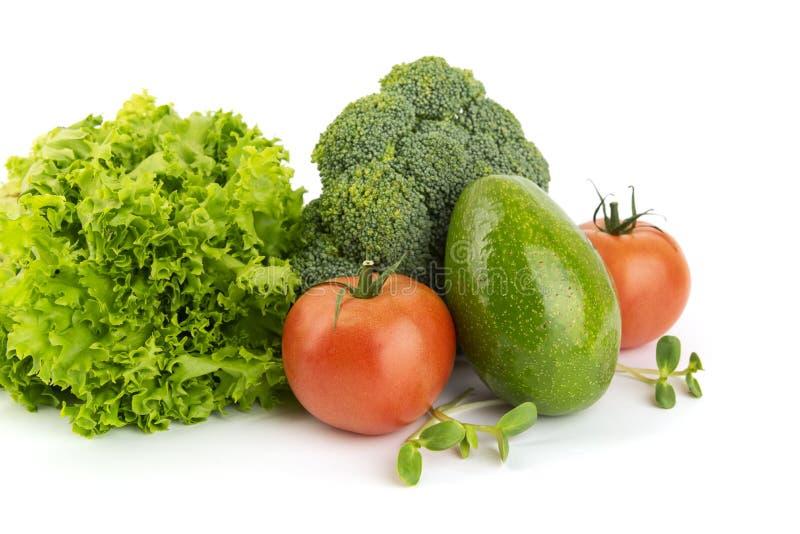 新鲜蔬菜堆  库存照片