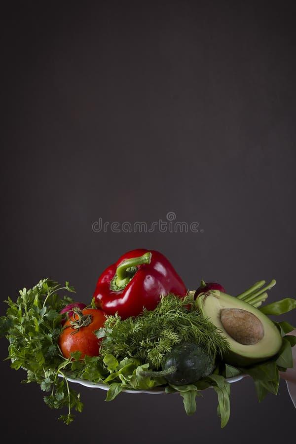 新鲜蔬菜菜 免版税库存图片
