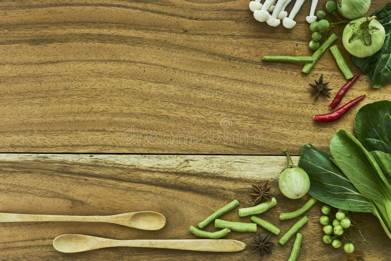 新鲜蔬菜素食主义者 库存图片