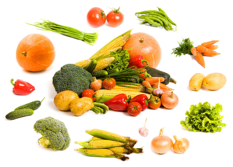 新鲜蔬菜 库存图片