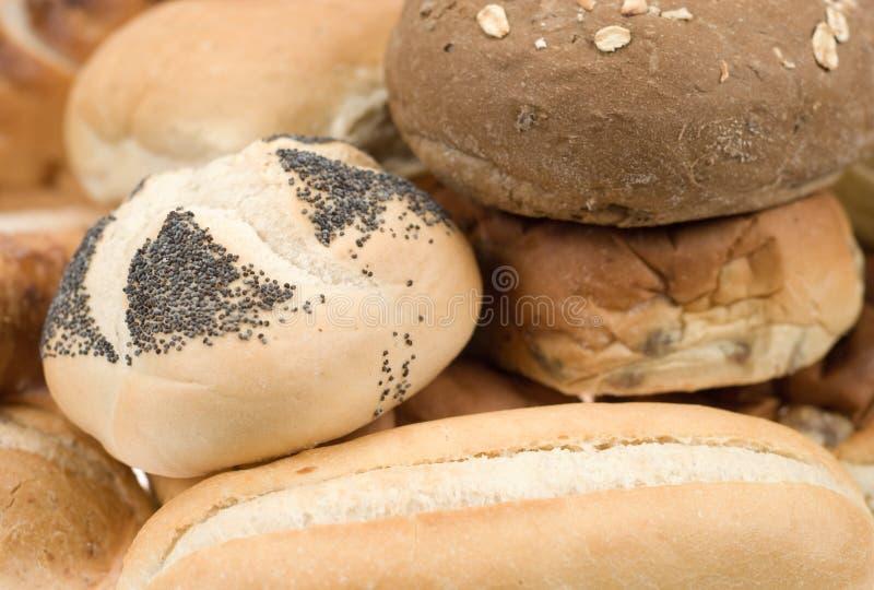 新鲜被烘烤的面包 免版税图库摄影