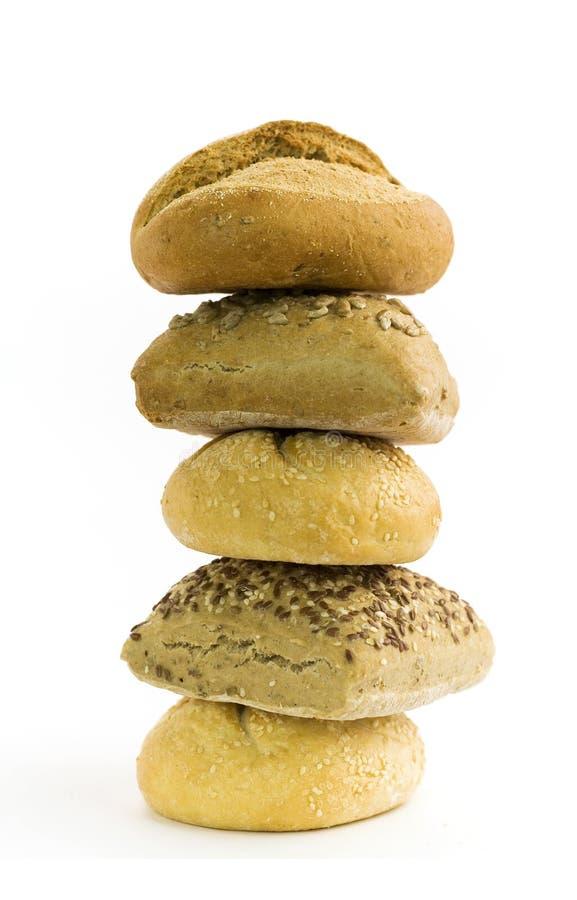新鲜面包 库存照片