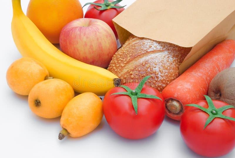 新鲜食品材料 免版税库存照片
