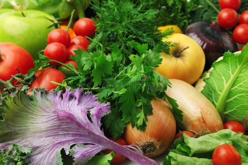 新鲜水果蔬菜 库存图片