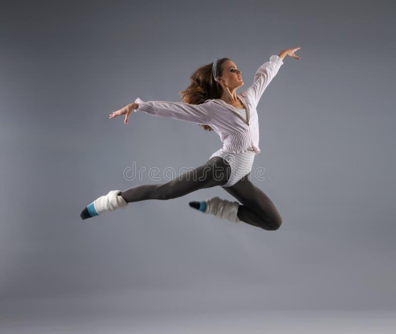 新,可爱和性感的现代舞蹈演员 库存图片
