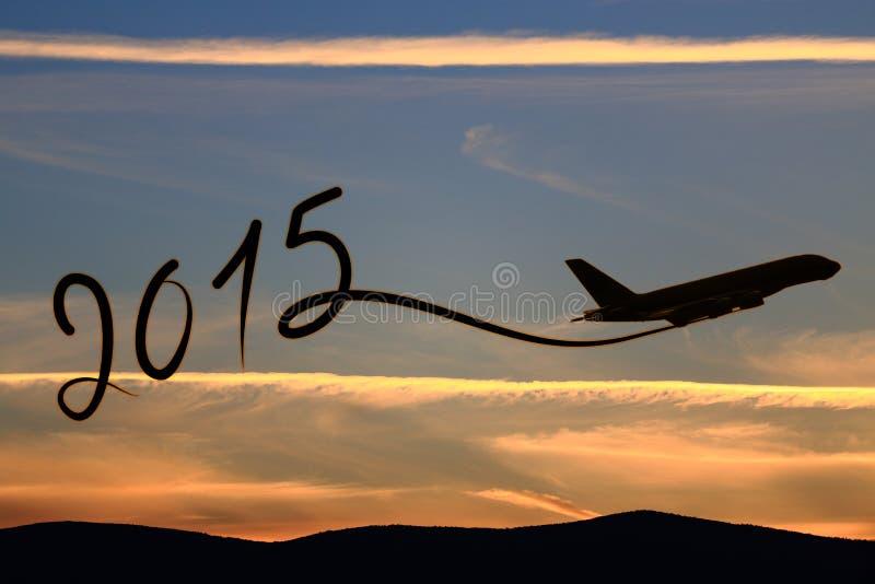 新年2015年图画 免版税库存图片