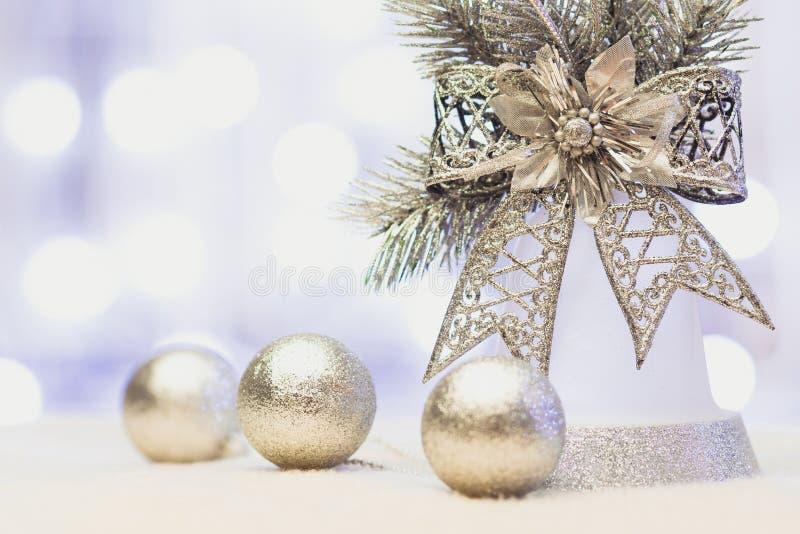 新年好/与圣诞节结婚 免版税库存照片