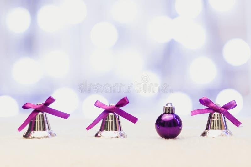 新年好/与圣诞节结婚 免版税图库摄影
