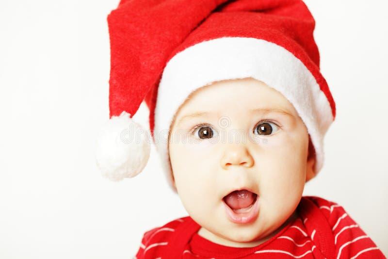 新年婴孩 库存图片