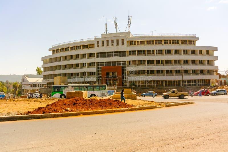 新建工程在亚的斯亚贝巴 库存图片