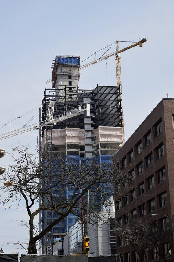 新建工程,密尔沃基,威斯康辛 免版税库存照片