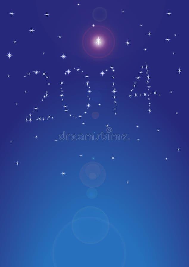 新年度2014年 免版税库存照片